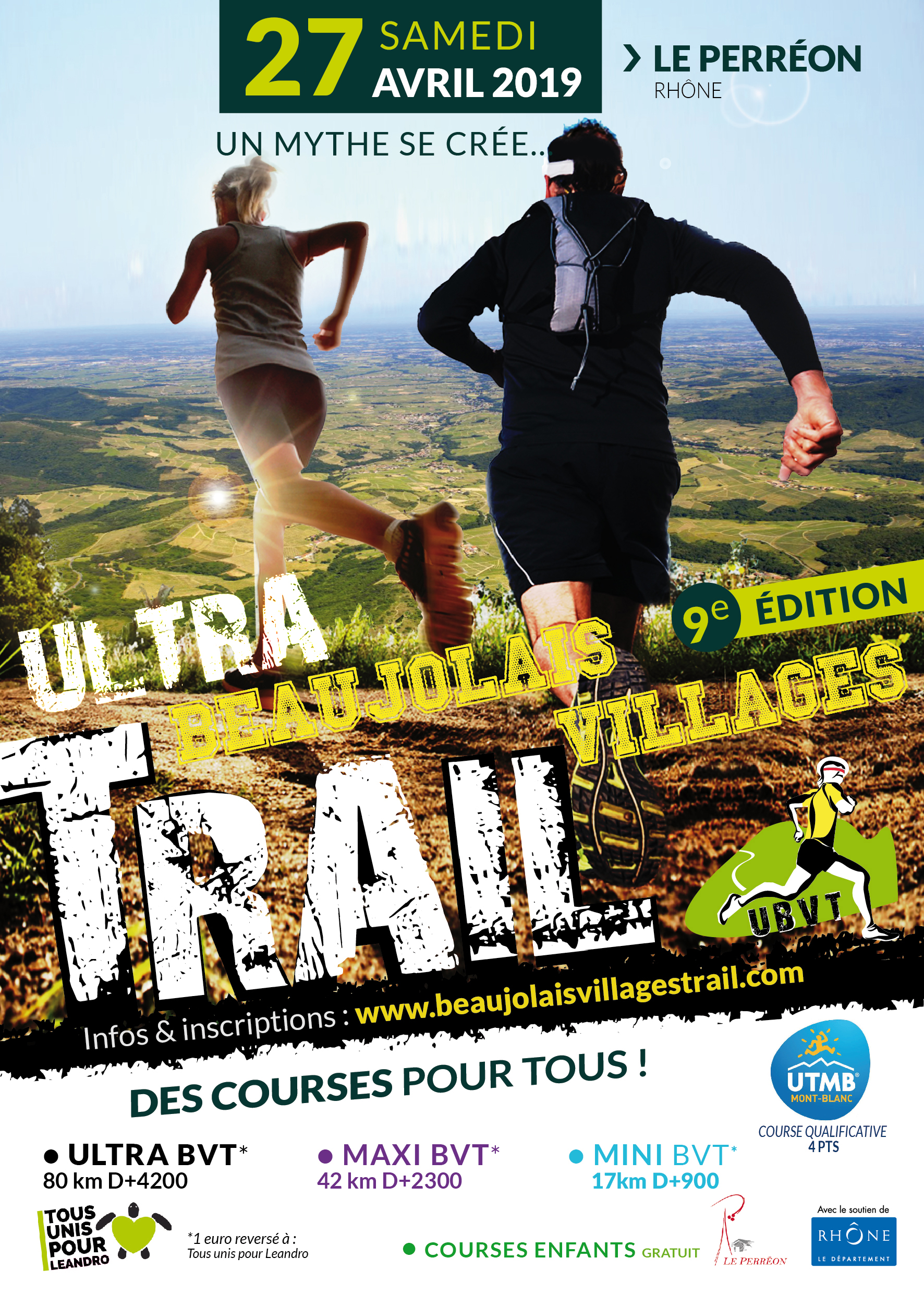 ULTRA BEAUJOLAIS VILLAGE TRAIL