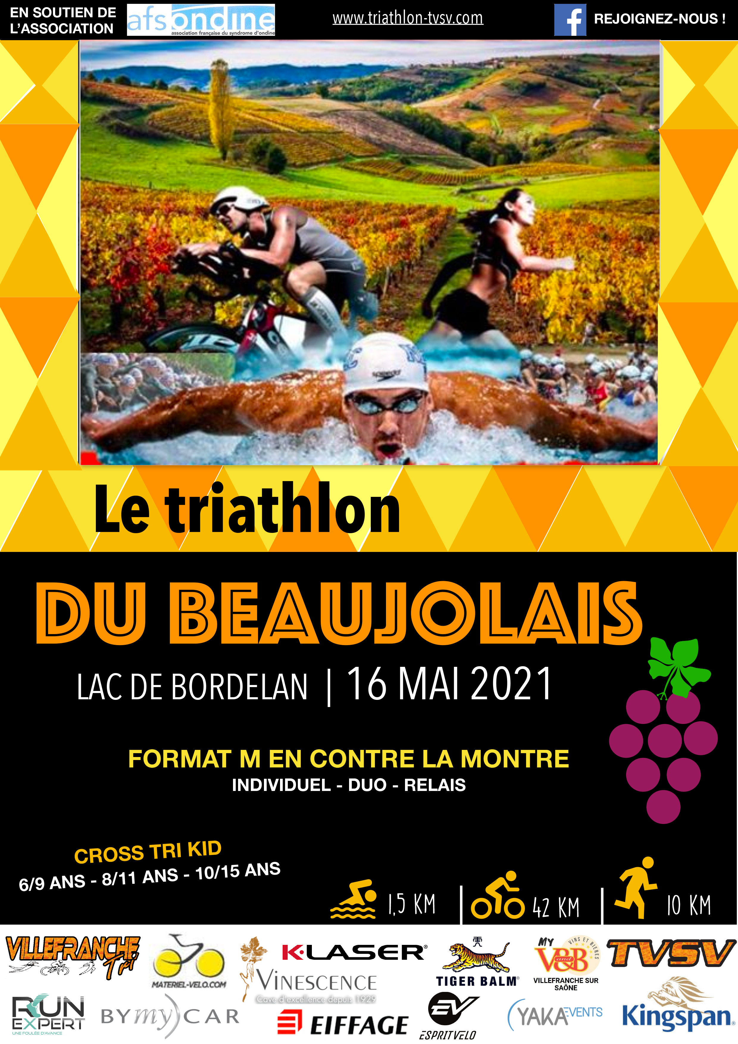 TRIATHLON DU BEAUJOLAIS